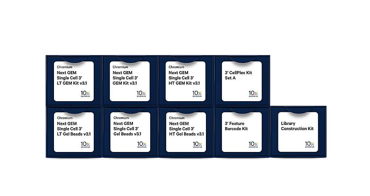 Chromium Single Cell Gene Expression reagents