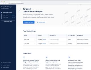 10x Genomics Custom Panel Designer